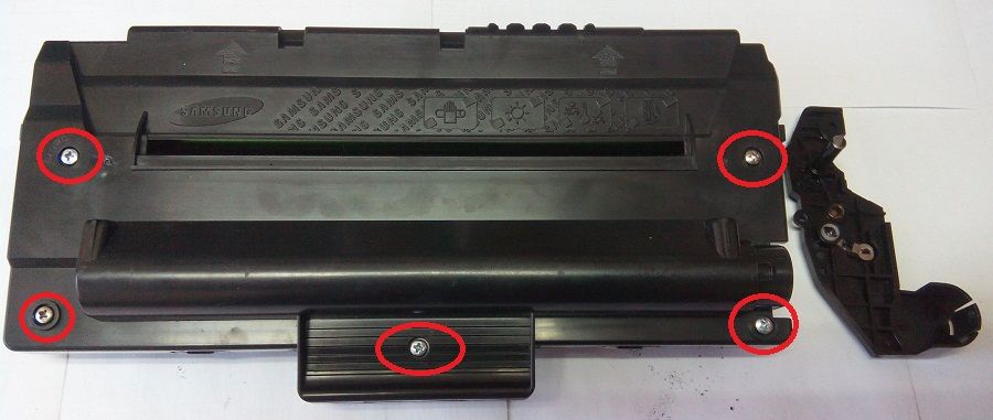 Samsung scx 4200 инструкция заправки