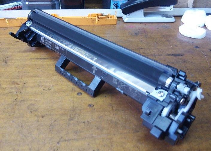 Инструкция по заправке HP CF218A (18A)