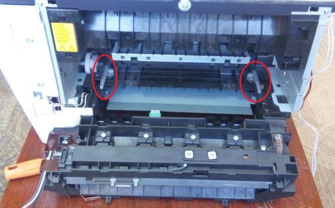 Kyocera M2035DN скрип и шорох при печати  Ошибка C6000 |