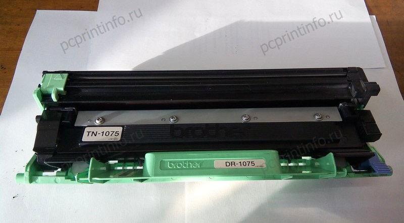 Инструкция по заправке TN-1075, TN-1095. Замена барабана DR-1075, DR-1095