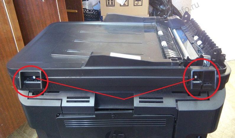 Ремонт автоподатчика (ADF) HP LJ Pro M225 |